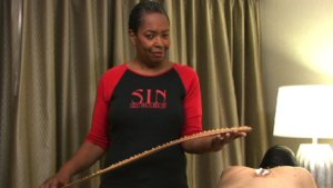Caning with Palm Fronds
