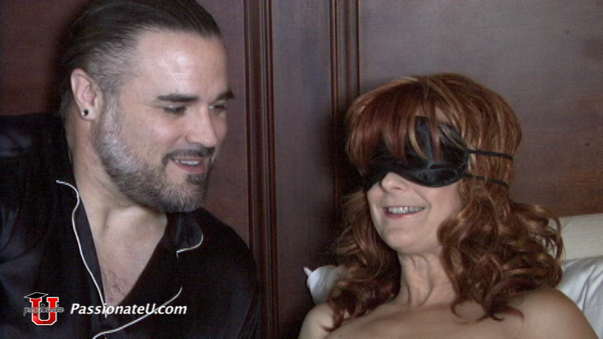 Scotty & Annie explore the kinky fun of blindfolds.